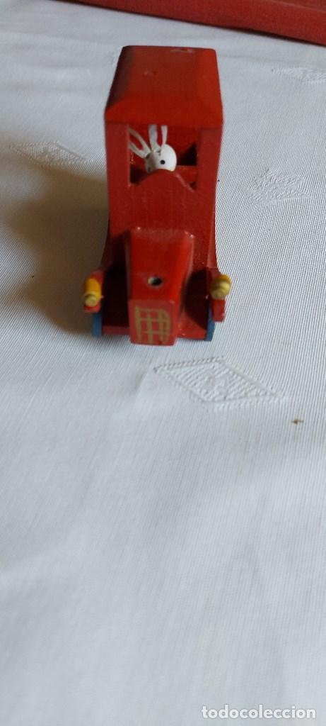 Coches: Coche miniatura de madera - Foto 5 - 277852263