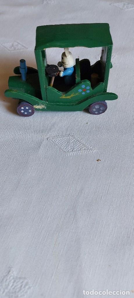 Coches: Coche miniatura de madera - Foto 3 - 277852298