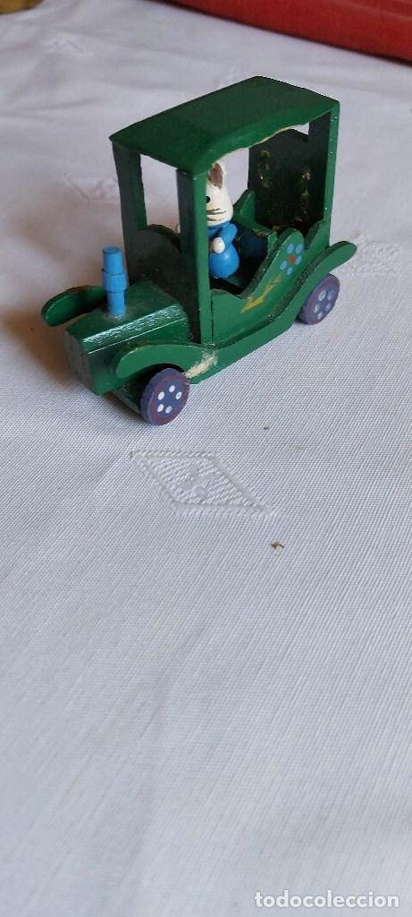 Coches: Coche miniatura de madera - Foto 4 - 277852298