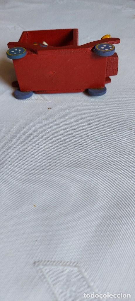 Coches: Coche miniatura de madera - Foto 6 - 277852328