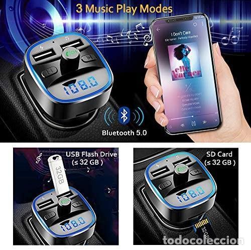 Coches: Cargador MP3 + USB para coche (multifunción wireless) - Foto 2 - 287102483