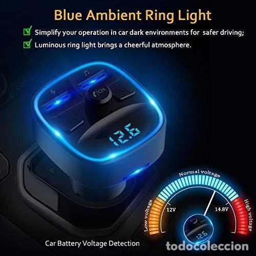 Coches: Cargador MP3 + USB para coche (multifunción wireless) - Foto 3 - 287102483