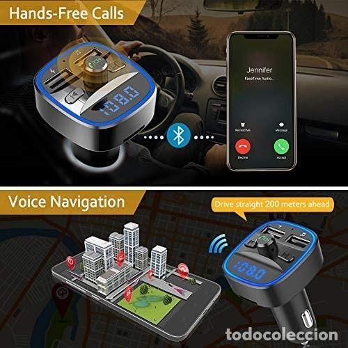 Coches: Cargador MP3 + USB para coche (multifunción wireless) - Foto 4 - 287102483