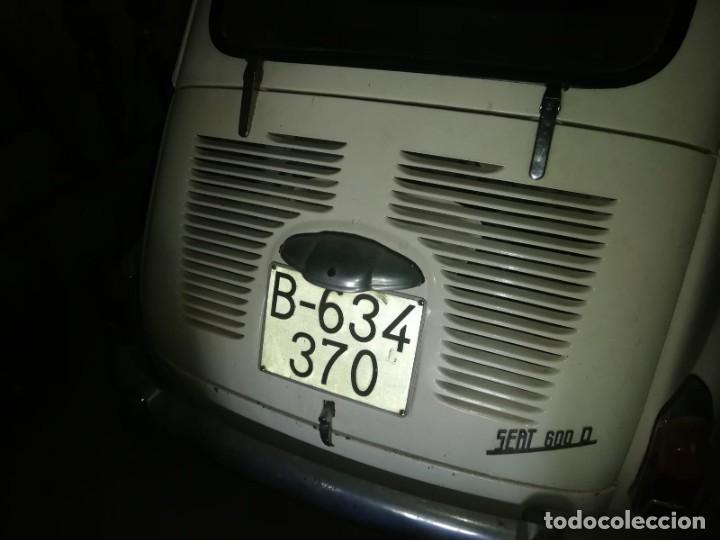 Coches: Seat 600 D año 68, funciona Buen estado con papeles, ITV año 2007 - Foto 8 - 287705323