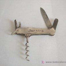 Abrebotellas y sacacorchos de colección: NAVAJA MULTIUSOS SACACORCHOS. PUBLICITARIA DE JACATRA.. Lote 24141294