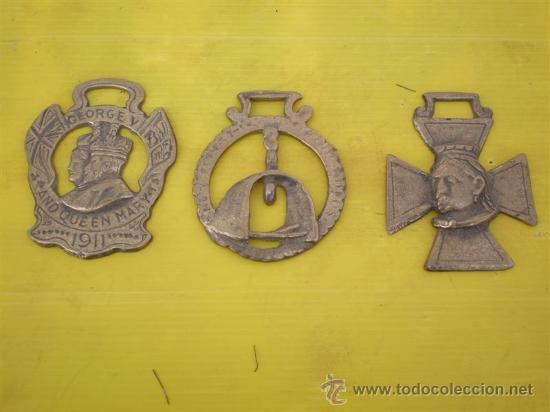3 ABREBOTELLAS EN BRONCE (Coleccionismo - Botellas y Bebidas - Abrebotellas y Sacacorchos)