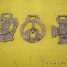 Abrebotellas y sacacorchos de colección: 3 ABREBOTELLAS EN BRONCE. Lote 17388040