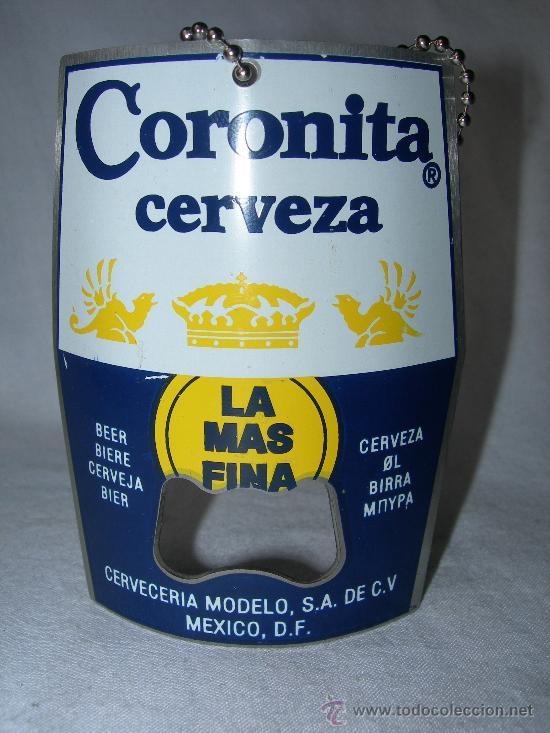 ABRIDOR CERVEZA CORONITA (Coleccionismo - Botellas y Bebidas - Abrebotellas y Sacacorchos)