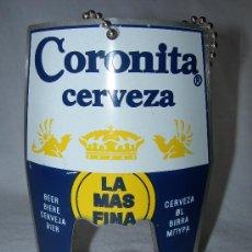 Abrebotellas y sacacorchos de colección: ABRIDOR CERVEZA CORONITA. Lote 37285869
