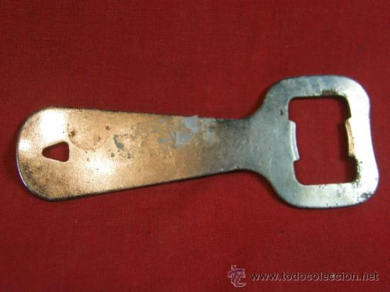 Abrebotellas y sacacorchos de colección: abrebotellas metal beba coca cola marca registrada - Foto 2 - 38684784
