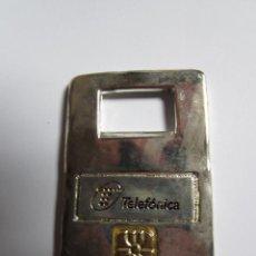 Abrebotellas y sacacorchos de colección: ABREBOTELLAS METALICO PLATEADO. Lote 42544546