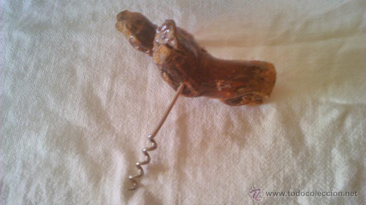 Abrebotellas y sacacorchos de colección: Original sacacorchos hecho de una rama de parra. - Foto 3 - 44058539