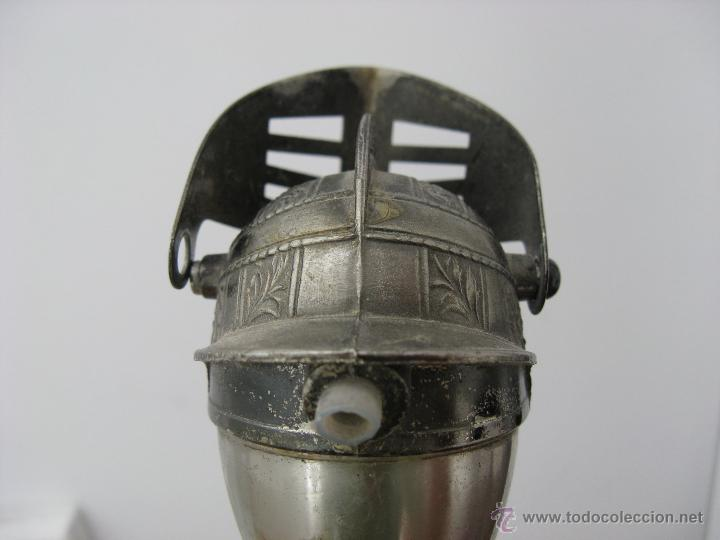 Abrebotellas y sacacorchos de colección: DOSIFICADOR DE LICOR PARA TAPÓN DE BOTELLA ANTIGUO DE ACERO - Foto 6 - 44325431