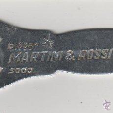 Abrebotellas y sacacorchos de colección: ABRIDOR DE MARTINI Y ROSSI BITER SODA. Lote 44722150