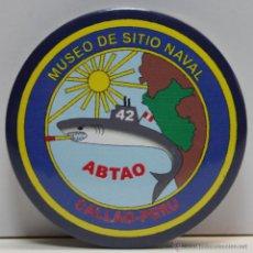 Abrebotellas y sacacorchos de colección: CHAPA 56MM ABREBOTELLAS, ABRIDOR, DESTAPADOR, MUSEO SE SITIO NAVAL ABTAO, PERU, CHAPAS. Lote 49444192