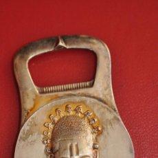 Abrebotellas y sacacorchos de colección: ABREBOTELLAS CHRISTOFLE FRANCE DE TEMA AFRICA NBL . Lote 50770802