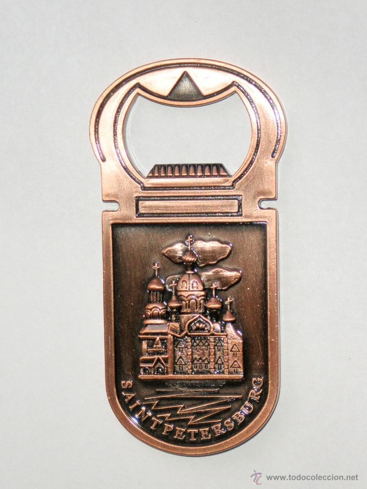 Abrebotellas y sacacorchos de colección: ABREBOTELLAS RUSO DE SAN PETERSBURGO - Foto 2 - 52301134