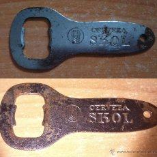 Abrebotellas y sacacorchos de colección: ABREBOTELLA DE CERVEZA SKOL. Lote 53118587