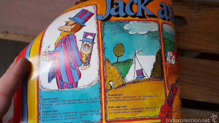 Abrebotellas y sacacorchos de colección: PARTY JACK, RARO DESTAPADOR Y ABRIDOR MULTIUSOS, 1970s, NUEVO Y EN SU CAJA! VINTAGE, RARO! - Foto 6 - 80526874