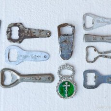 Abrebotellas y sacacorchos de colección: LOTE 10 ABRIDORES ANTIGUOS. Lote 55694384