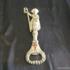 Abrebotellas y sacacorchos de colección: ABRIDOR ABREBOTELLAS DEL APOSTOL SANTIAGO. Lote 57384419