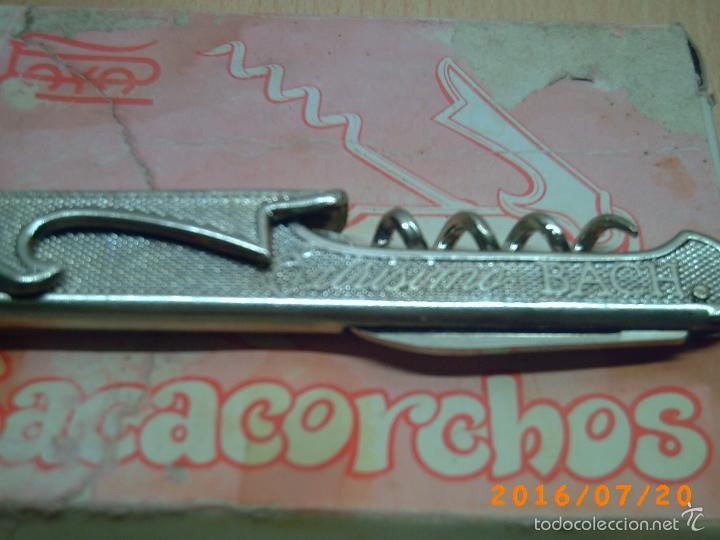 Abrebotellas y sacacorchos de colección: ANTIGUO SACACORCHOS CASA PAYA-PUBLICIDAD CANALS NUBIOLA-EXTRISSIMO BACH-SIN CAJA- - Foto 2 - 110180830