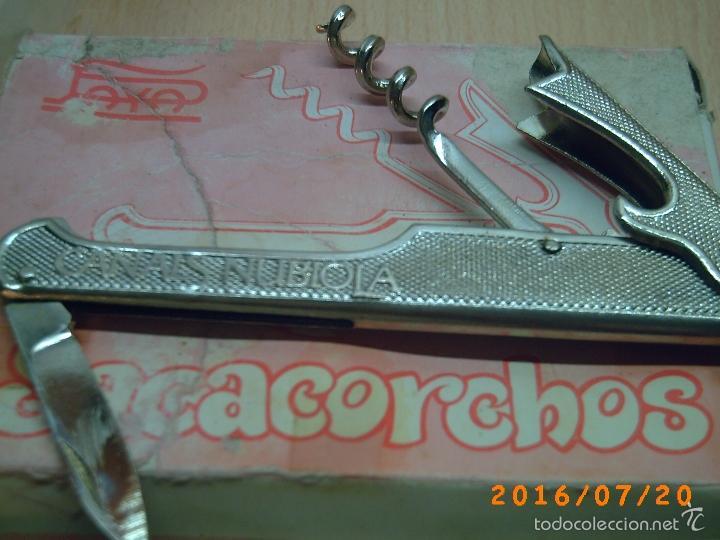 Abrebotellas y sacacorchos de colección: ANTIGUO SACACORCHOS CASA PAYA-PUBLICIDAD CANALS NUBIOLA-EXTRISSIMO BACH-SIN CAJA- - Foto 3 - 110180830