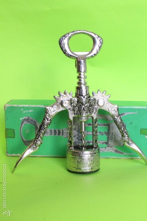 Abrebotellas y sacacorchos de colección: SACACORCHOS METAL CON CAJA, MADE IN SPAIN - Foto 8 - 61426671