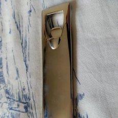 Abrebotellas y sacacorchos de colección: ABREBOTELLAS DE ACERO - 12,7 X 2,5 CENTIMETROS - PESO: 116 GRAMOS. Lote 72410591