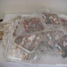 Abrebotellas y sacacorchos de colección: LIQUIDACION LOTE DE 35 POSAVASOS EN PLASTICO DURO (#). Lote 91578115
