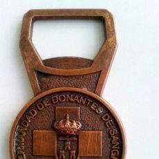 Abrebotellas y sacacorchos de colección: ABREBOTELLAS HERMANDAD DONANTES DE SANGRE ALBACETE. Lote 92268615