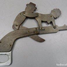Abrebotellas y sacacorchos de colección: BONITO ABRIDOR ABREBOTELLAS BAQUELITA SEXO . Lote 103725347