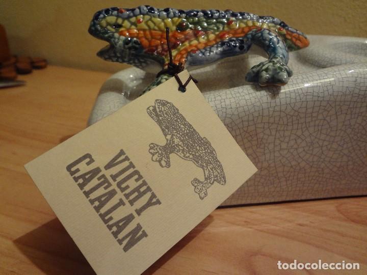 Abrebotellas y sacacorchos de colección: abridor de barra VICHY CATALAN - Foto 4 - 105685191