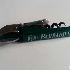 Abrebotellas y sacacorchos de colección: (SEVILLA) ABRIDOR SACACORCHOS BARBADILLO. Lote 112701326