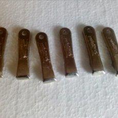 Abrebotellas y sacacorchos de colección: LOTE DE SEIS ABRIDORES CERVEZA SAN MIGUEL. Lote 114125868