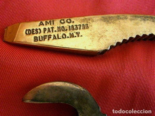 Abrebotellas y sacacorchos de colección: AMI OPEN-ALL (Made in USA años 60) Abre todo, Sacacorchos cava, cascanueces, abrebotellas, abrelatas - Foto 6 - 114908935