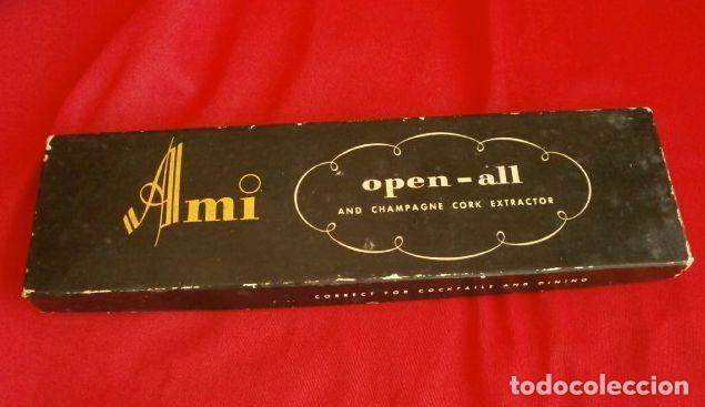 Abrebotellas y sacacorchos de colección: AMI OPEN-ALL (Made in USA años 60) Abre todo, Sacacorchos cava, cascanueces, abrebotellas, abrelatas - Foto 13 - 114908935