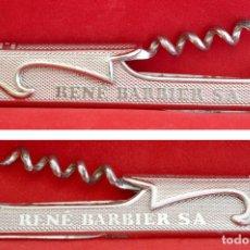Abrebotellas y sacacorchos de colección: SACACORCHOS ABREBOTELLAS RENE BARBIER. Lote 51799800