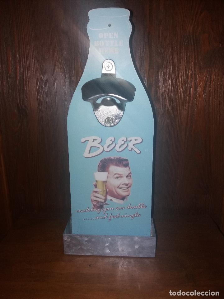 ABRIDOR DE BOTELLAS (Coleccionismo - Botellas y Bebidas - Abrebotellas y Sacacorchos)