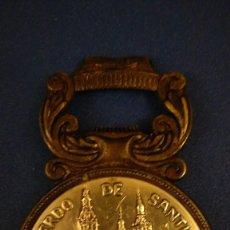 Abrebotellas y sacacorchos de colección: ABRIDOR RECUERDO DE SANTIAGO DE COMPOSTELA. AÑOS 80. Lote 121728707