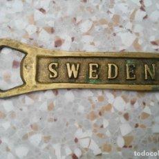 Abrebotellas y sacacorchos de colección: ABREBOTELLAS SWEDEN. Lote 132050410