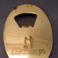 Abrebotellas y sacacorchos de colección: ABREBOTELLA CERVEZA CRUZCAMPO. ABREBOTELLA-004. Lote 133905130