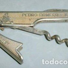 Abrebotellas y sacacorchos de colección: ABREBOTELLAS FUNDADOR PEDRO DOMECQ - JEREZ, VINOS Y COÑAC - ABREBOTELLA-010. Lote 133907878