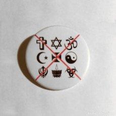 Abrebotellas y sacacorchos de colección: NO RELIGIONS - ABREBOTELLAS 59MM (CON IMÁN PARA NEVERA). Lote 135845830