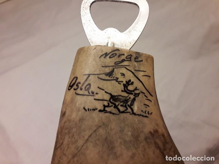 Abrebotellas y sacacorchos de colección: Magnifico abrebotellas mango asta de reno de Noruega - Foto 5 - 143046694