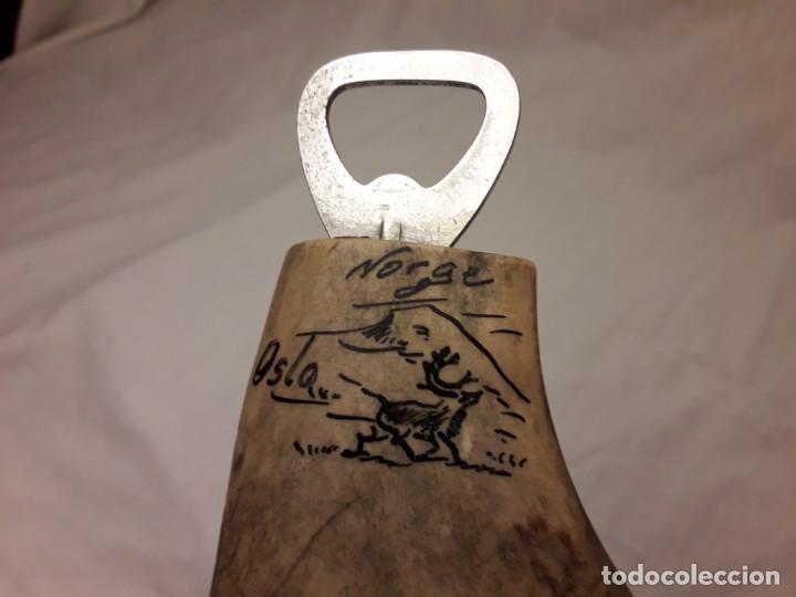 Abrebotellas y sacacorchos de colección: Magnifico abrebotellas mango asta de reno de Noruega - Foto 6 - 143046694
