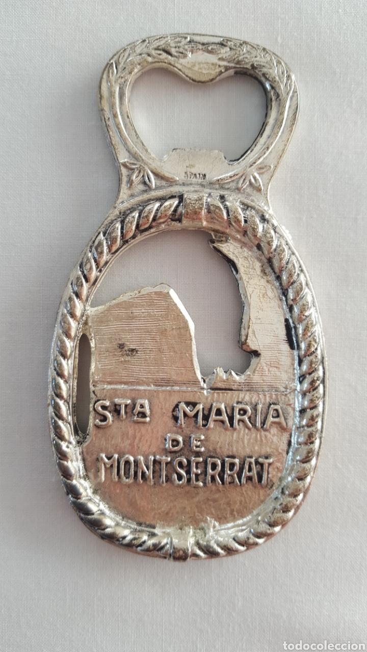 Abrebotellas y sacacorchos de colección: ABREBOTELLAS MONASTERIO SANTA MARÍA DE MONTSERRAT. - Foto 2 - 143615408