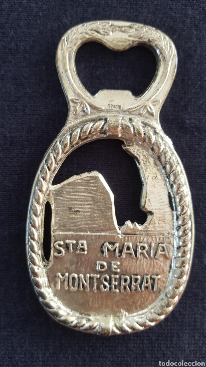 Abrebotellas y sacacorchos de colección: ABREBOTELLAS MONASTERIO SANTA MARÍA DE MONTSERRAT. - Foto 4 - 143615408