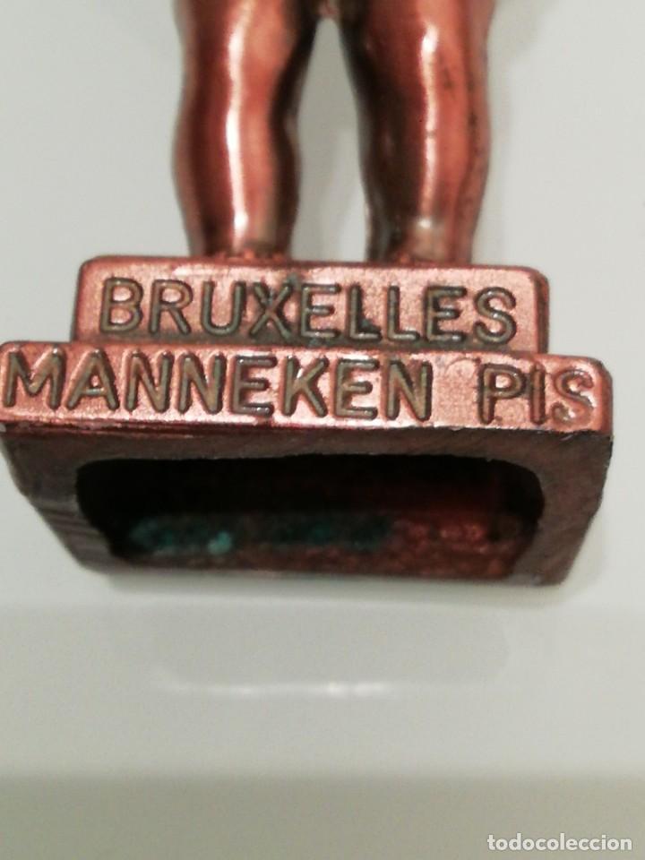 Abrebotellas y sacacorchos de colección: SACACORCHOS DE BRONCE- MANNEKEN PIS-BRUXELLES- - Foto 2 - 151221942