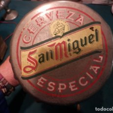 Abrebotellas y sacacorchos de colección: ABRIDOR DE BARRA CERVEZA CERVEZA SAN MIGUEL ESPECIAL - VER FOTOS. Lote 166593594